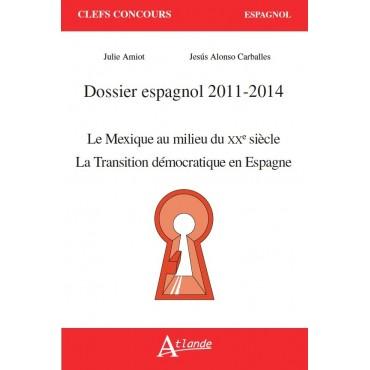 Dossier espagnol 2011 - 2013