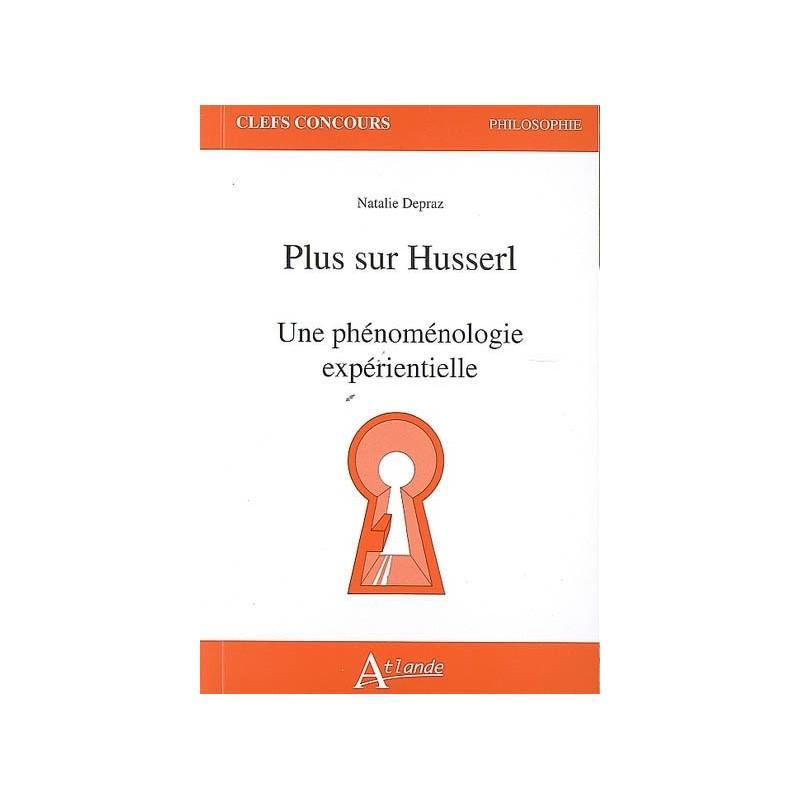 Plus sur Husserl