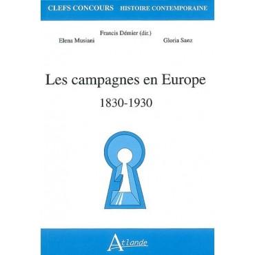 Les campagnes en Europe