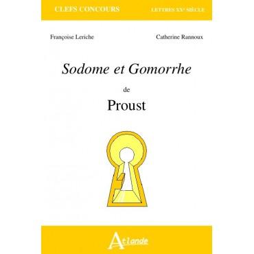 Sodome et Gomorrhe- Proust
