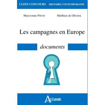 Les campagnes en Europe - Documents