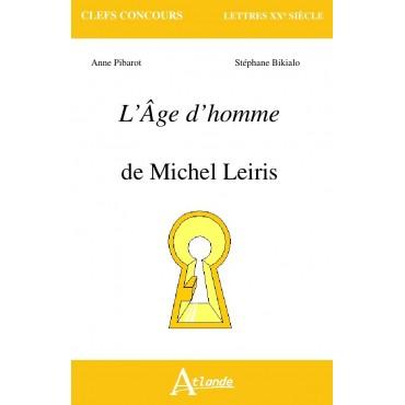 L'Âge d'homme - Michel Leiris