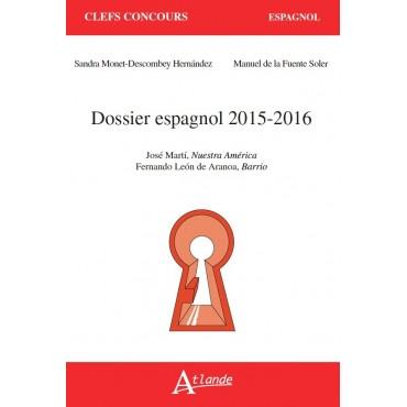 Dossier espagnol 2015 - 2016