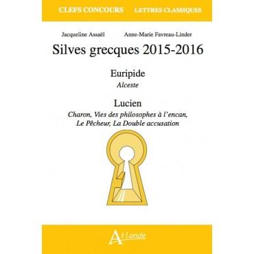 Silves grecques 2015-2016