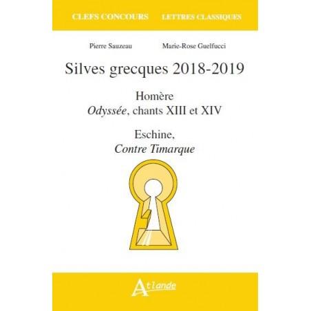 Silves grecques 2018-2019, Odyssée, chants 13 et 14, Eschine, Contre Timarque