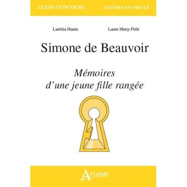 Simone de Beauvoir, Mémoires d'une jeune fille rangée