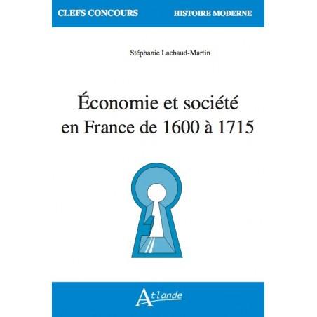 Économie et société en France de 1600 à 1715