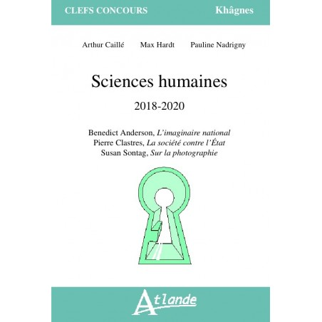 Sciences humaines 2018-2020
