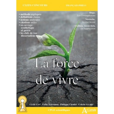 La force de vivre - Hugo, Les Contemplations. Nietzsche, Le Gai Savoir. Alexievitch, La Supplication