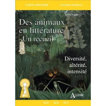 Des animaux dans la littérature – Un recueil