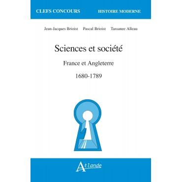 Sciences et société France et Angleterre 1680-1789