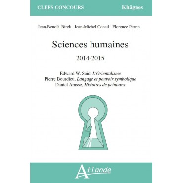 Sciences Humaines 2013 - 2015