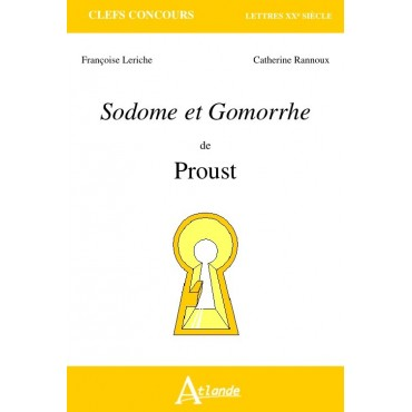 Sodome et Gomorrhe- Proust