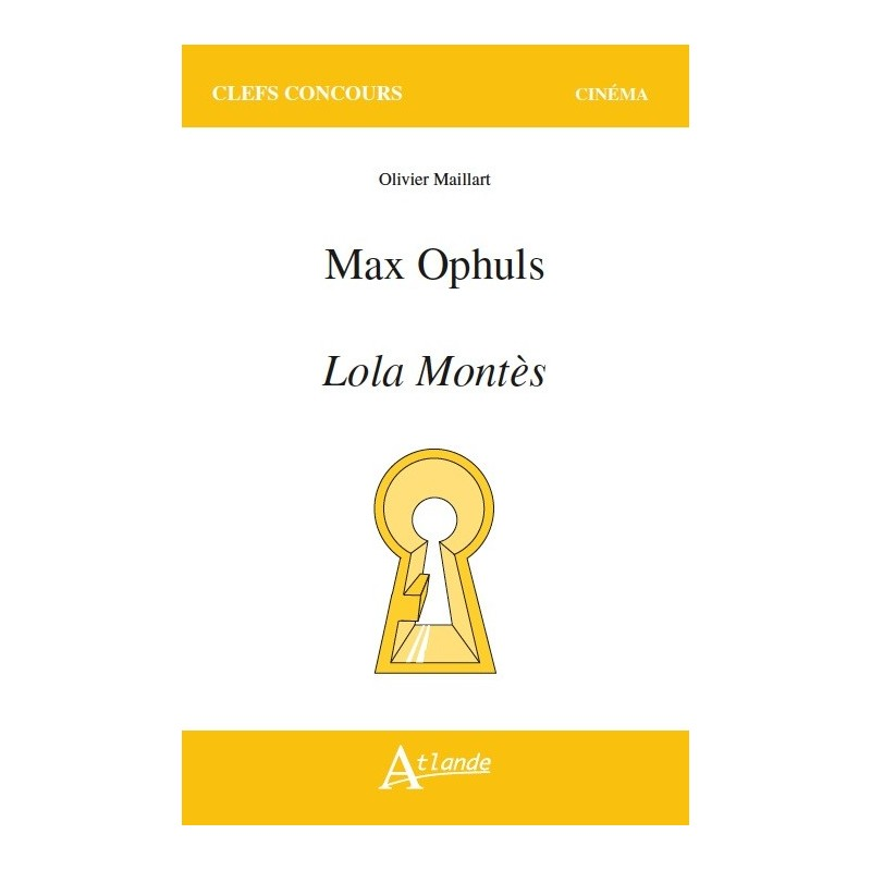 Max Ophuls - Lola Montès