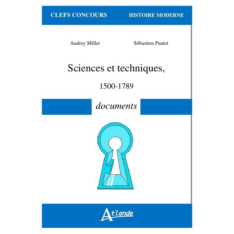 Sciences et techniques - 1500-1789 - Documents