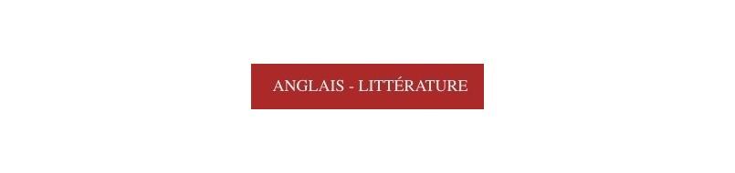 Anglais - Littérature