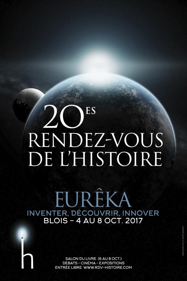Affiche du 20e salon du livre de Blois